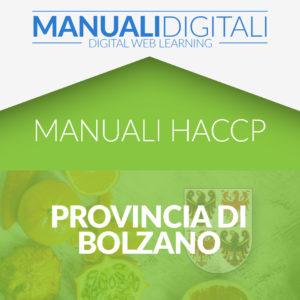 Manuale HACCP Provincia di Bolzano