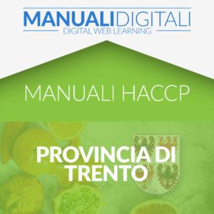 Manuale HACCP Provincia di Trento
