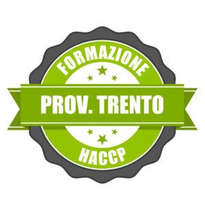 Corsi HACCP Prov. Trento