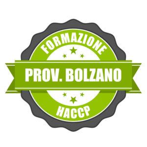 Corsi HACCP Provincia Bolzano