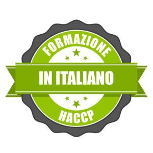 Formazione HACCP in Lingua Italiana